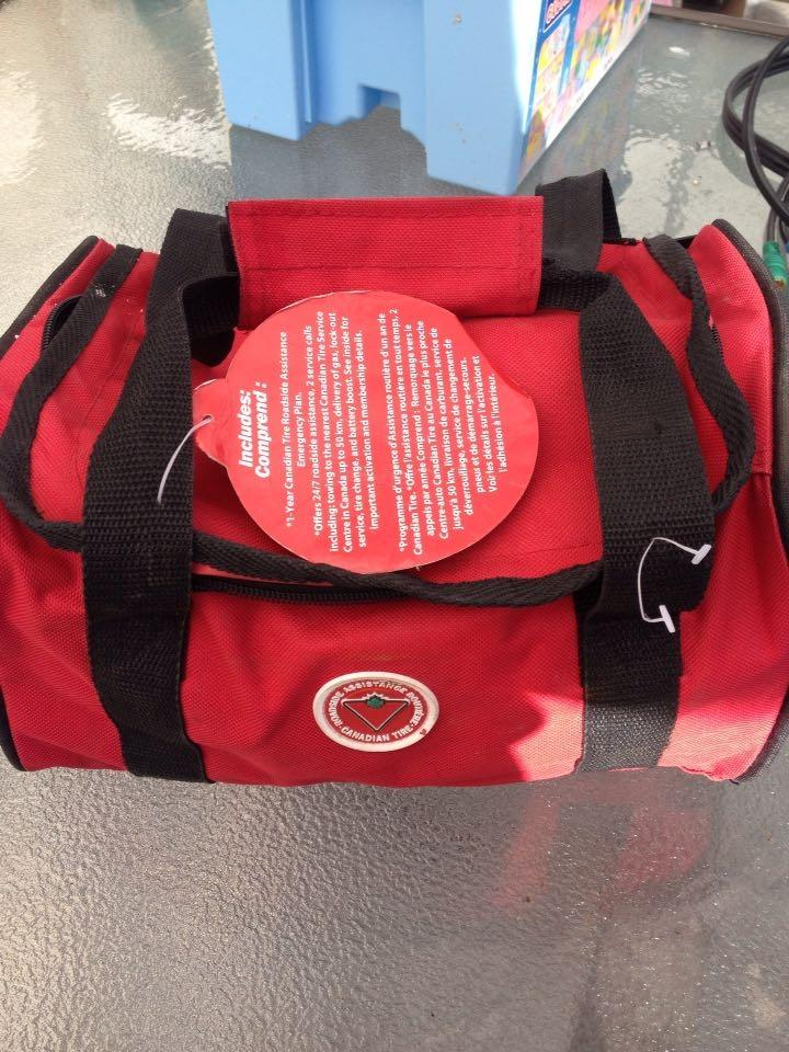 Find More Brand New Never Used Emergency Kit Roadside Canadian Tire