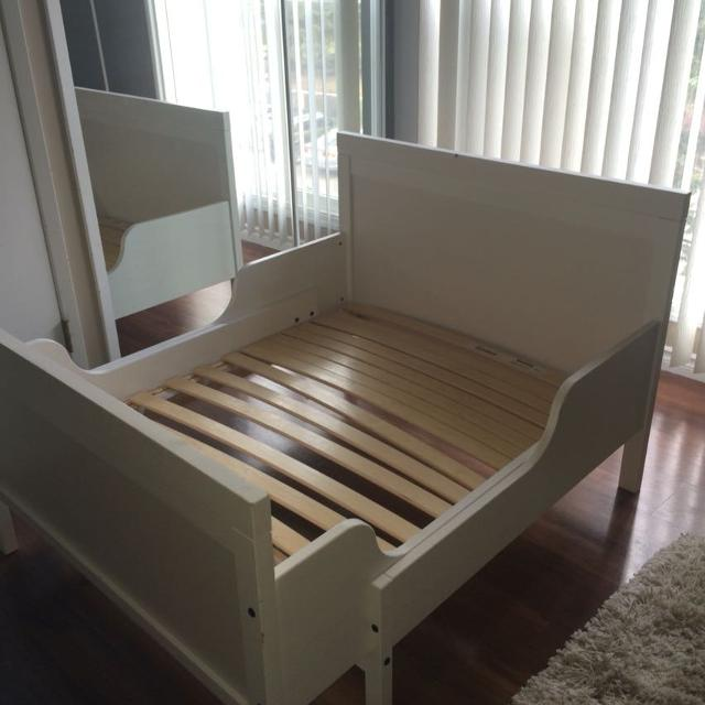 find more sundvik ikea extendable bed for sale at up to 90 off calgary ab. Black Bedroom Furniture Sets. Home Design Ideas