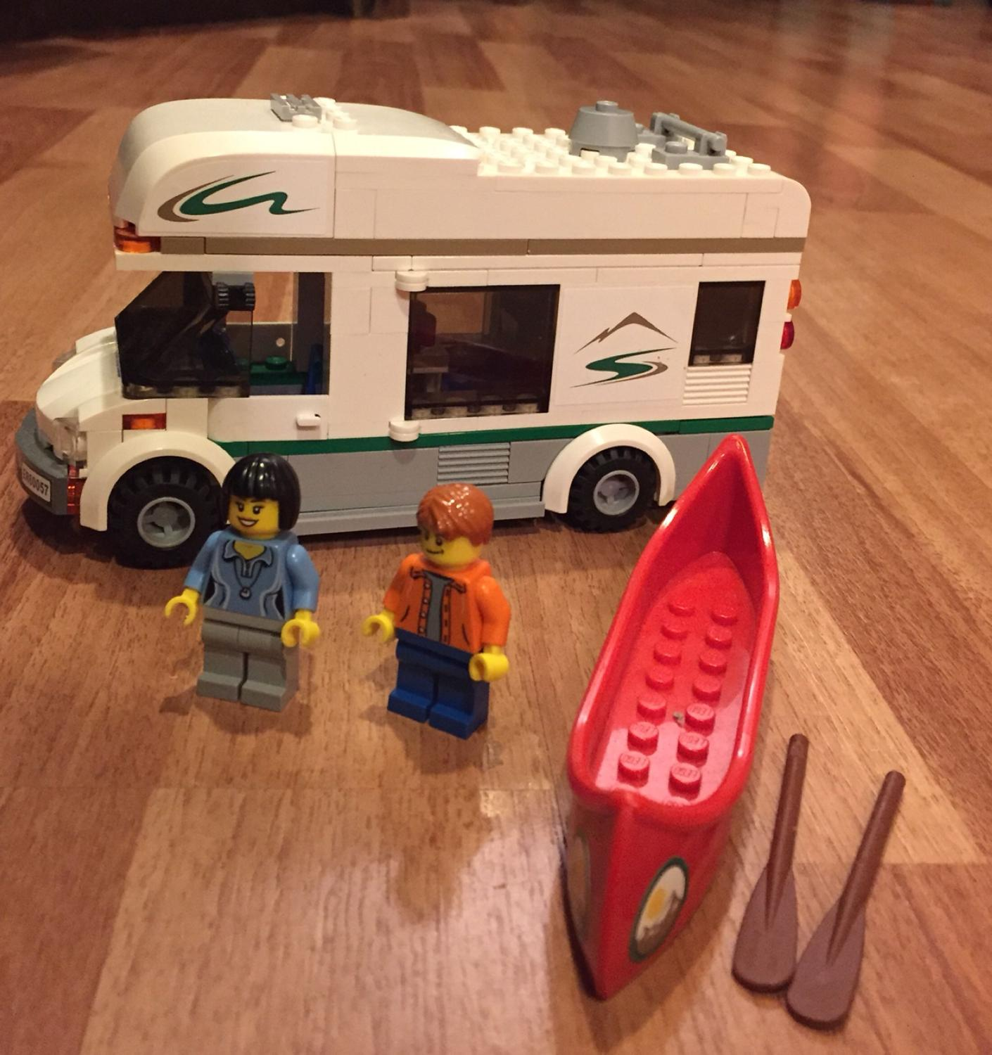 Find More Lego City Camper Van 60057 All Pieces And Instructions