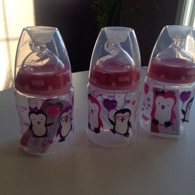 Best 2 New Nuk Anti Colic Baby Bottles for sale in Montréal cce82714d2e0