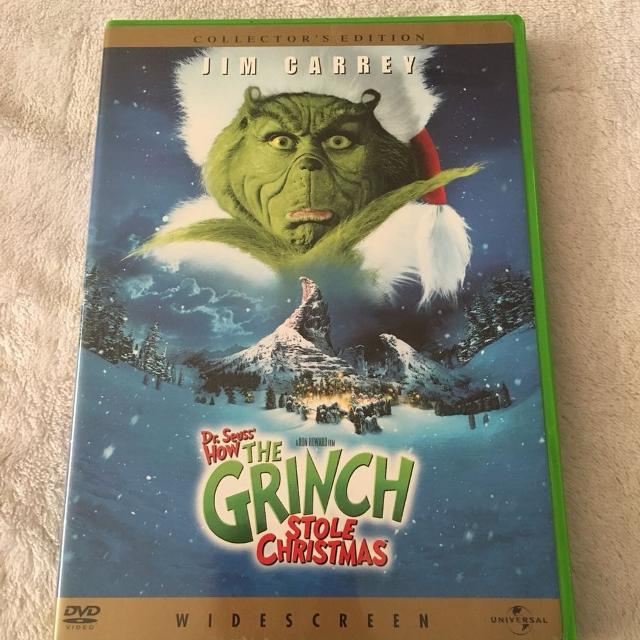 jim carrey how the grinch stole christmas dvd