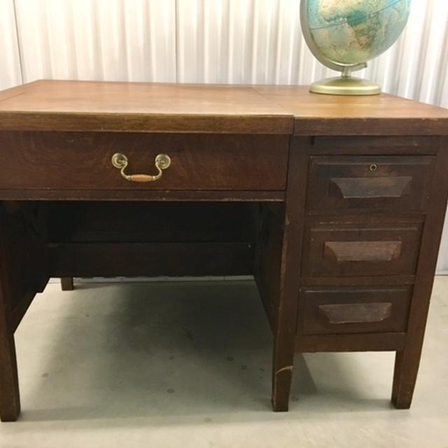 Antique Solid Wood Typewriter Desk - Best Antique Solid Wood Typewriter Desk For Sale In Mississauga