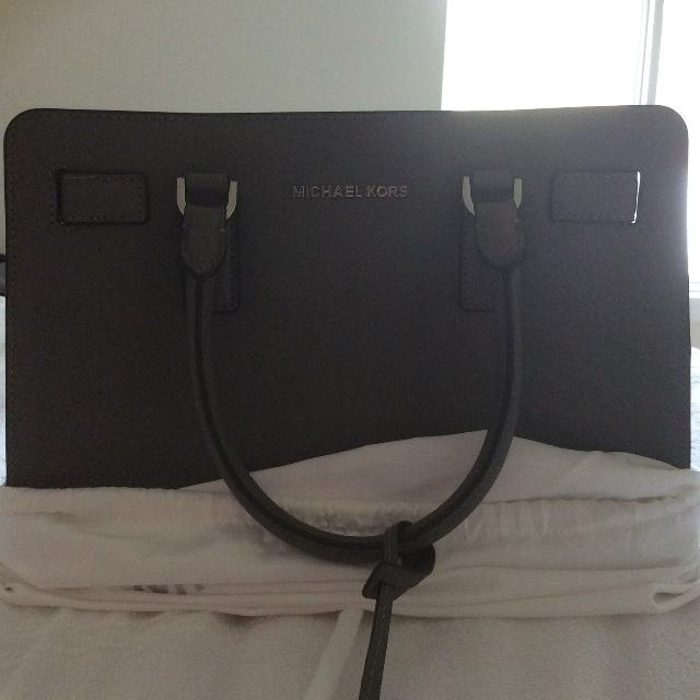 e81fef029d32c Best Michael Kors 'steel Grey' Saffiano Leather Satchel for sale in  Huntersville, North Carolina for 2019