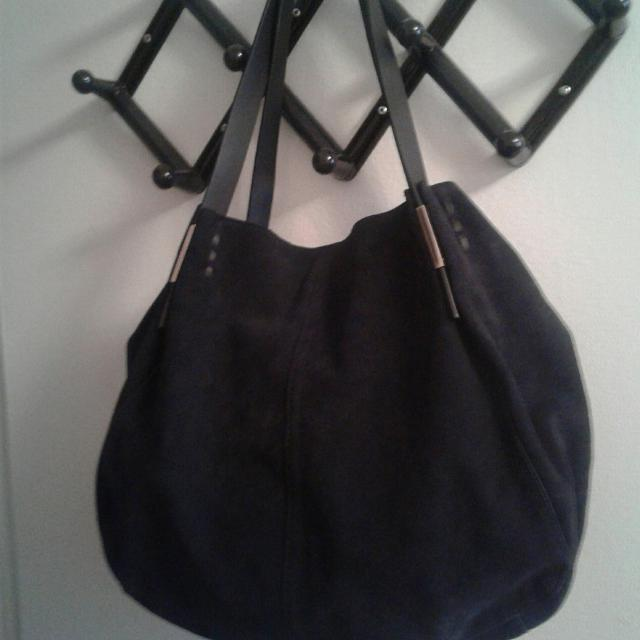 bf1c9753b7 Best Zara Black Suede Large Bag. for sale in Hanover, Ontario for 2019