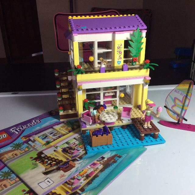 Find More Lego Friends Stephanies Beach House Play Set With