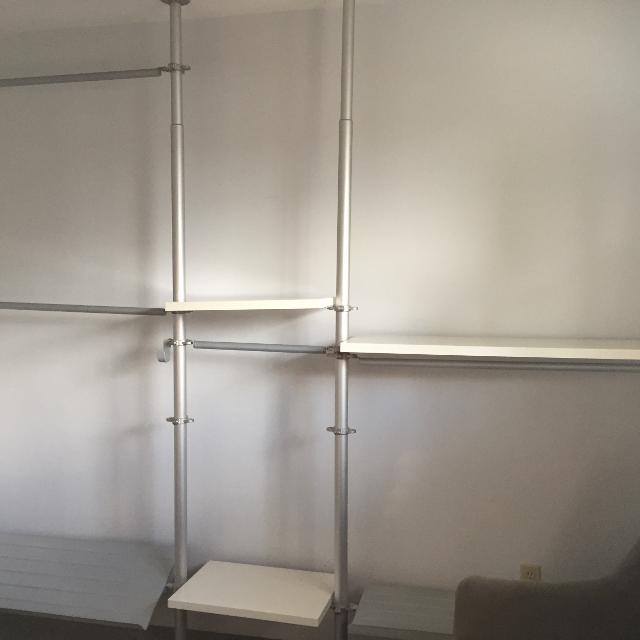 Best Closet Organizer Open Concept Ikea Stolmen For Sale In