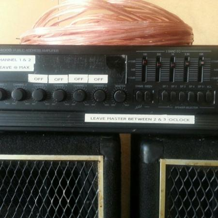 PA system and speakers for sale  Canada