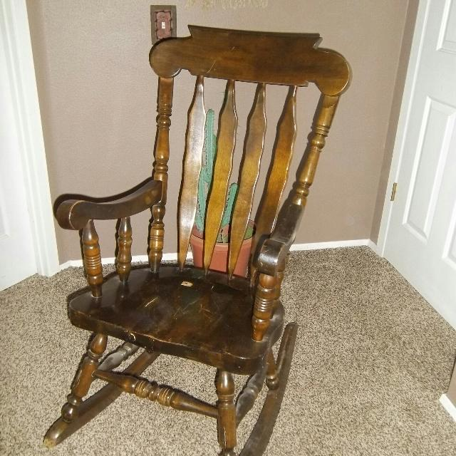 Pine Rocking Chair - Best Pine Rocking Chair For Sale In Klamath Falls, Oregon For 2018
