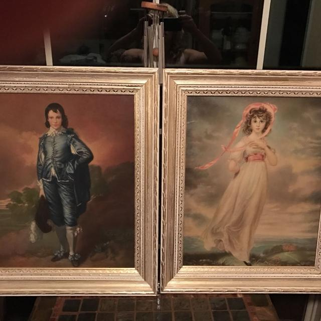 Find more Blue Boy And Pinkie Framed Pics By Turner Wall Accessory ...