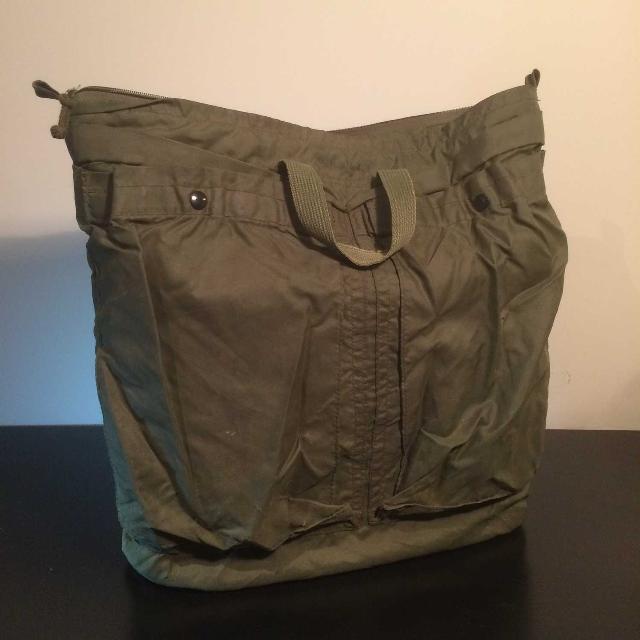Army Surplus Flight Helmet Bag