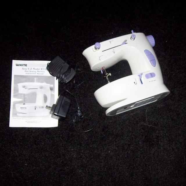 Find More White Sew Ez Model W40 Mini Sewing Machine New Fascinating White Sew EZ Mini Sewing Machine