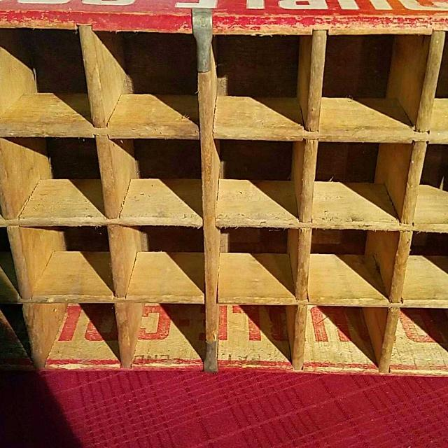 Antique Double Cola Soda Bottle Crate