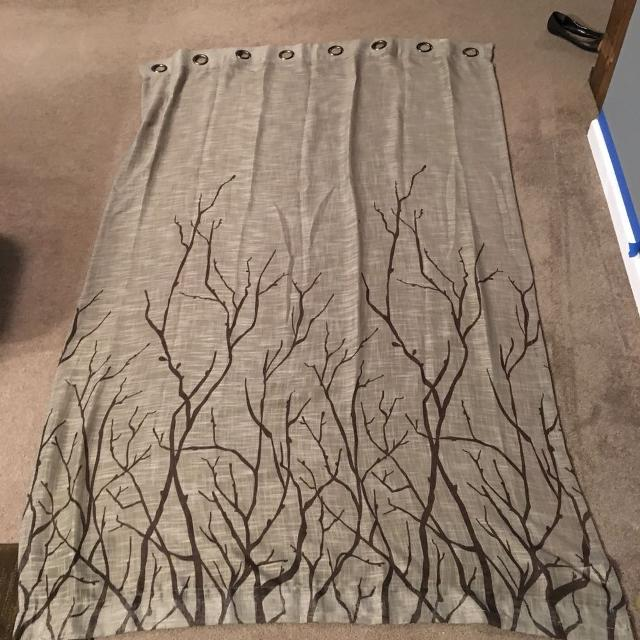 Curtains Ideas birch tree curtains : Find more Green/ Birch Tree Curtains -1 Pair (2panels) for sale at ...