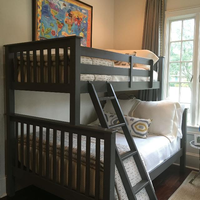 Find More Grey Bunkbeds Twin Over Full For Sale At Up To 90 Off