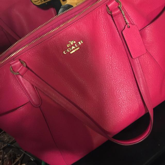 0550bced72 Best Pink Leather Coach Purse for sale in Kenosha, Wisconsin for 2019