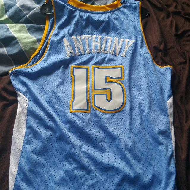 new product 3f48d be6e2 Authentic Carmelo Anthony NBA jersey XL