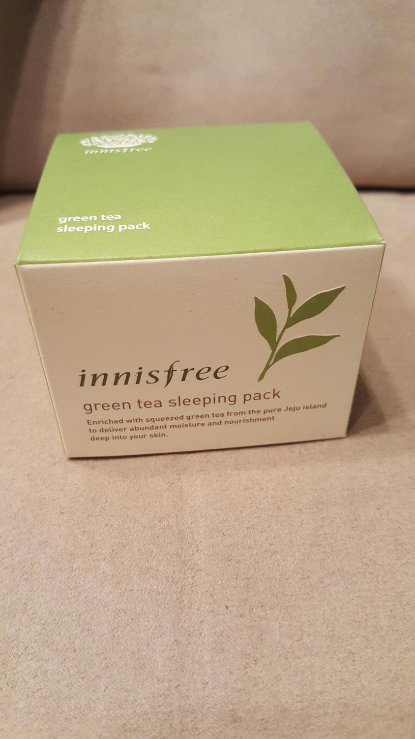 Find More Innisfree Green Tea Sleeping Pack New Korean For Sale At Up To 90 Off