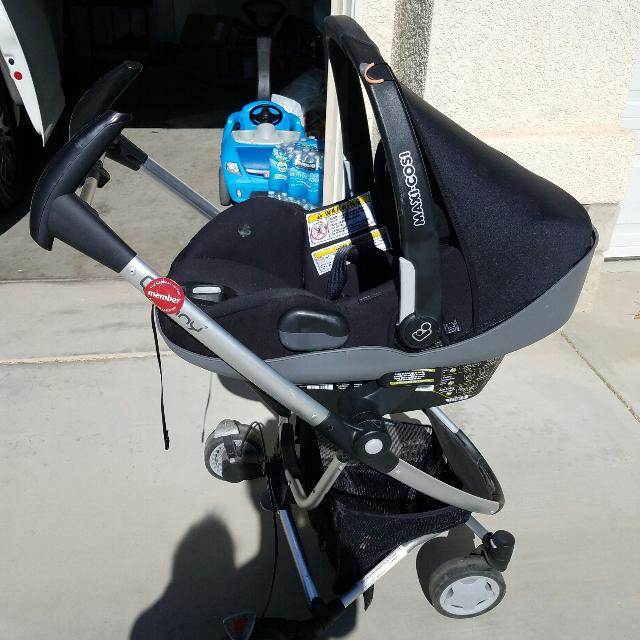 Maxi Cosi Prezi Infant Car Seat With Quinny Stroller