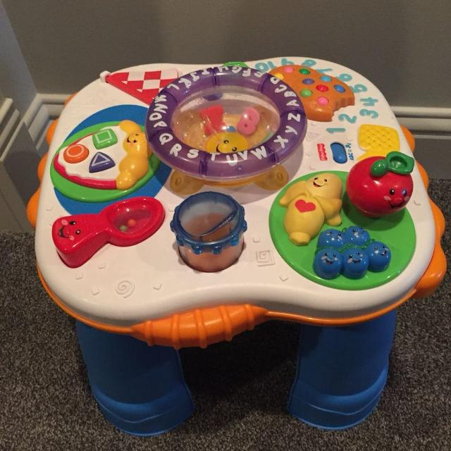 Fisher Price Stand And Play Music Table