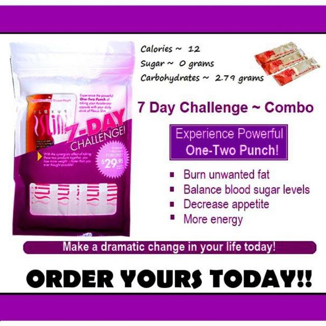 Best 7 Day Plexus Slim And Acclerator Trials On Hand For Sale For