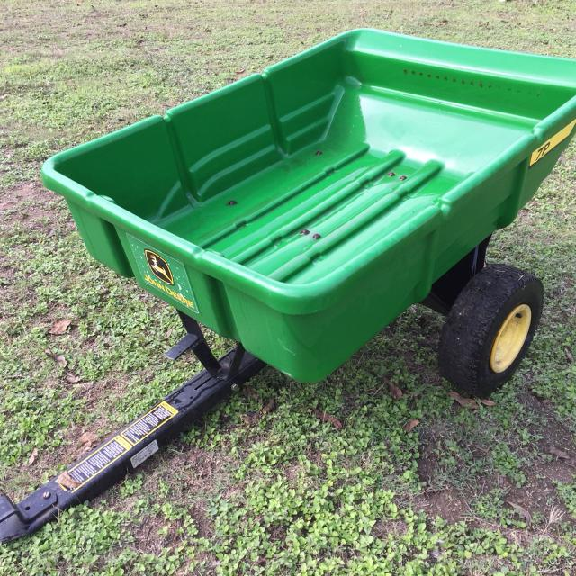 John Deere Lawn Tractor Wagon : Lawn mower wagons the wagon