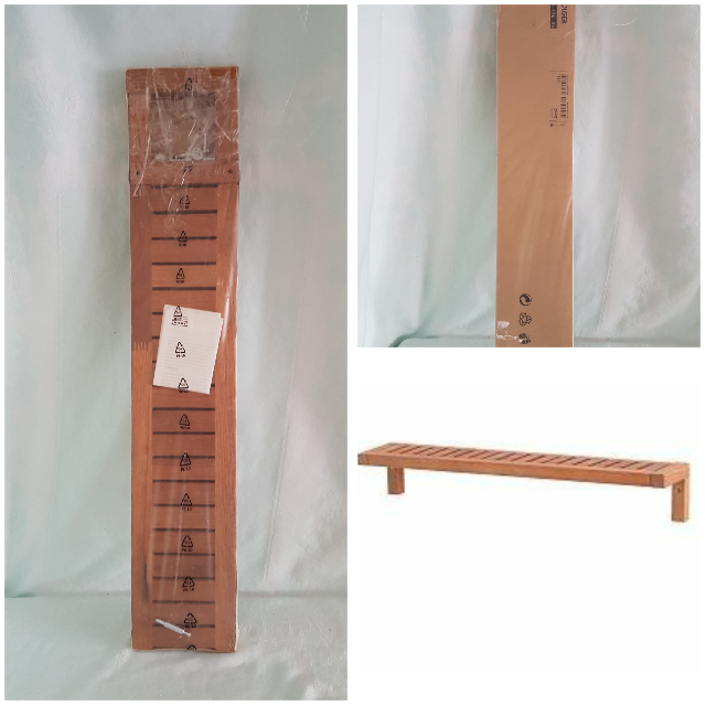 Find More Ikea Molger Wood Wall Shelf Bathroom Kitchen 18811 New 900 496 86 In Original Packaging For At Up To 90 Off