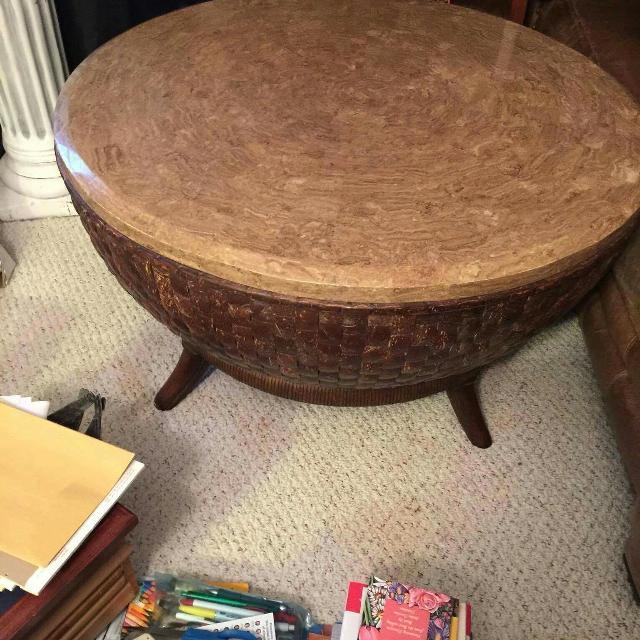 Best Indian Drum Coffee Table For Sale In Fredericksburg Virginia