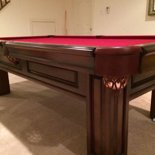 Best Moving Sale Fair Hill Md Olhausen Savoy Collection Pool Table - Md pool table