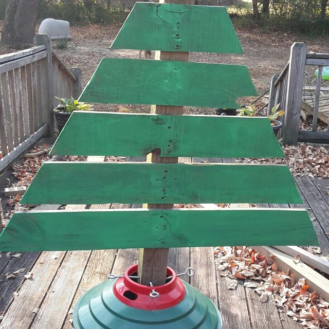 Best Pallet Wood Christmas Trees Made Of Pallet Wood And ...