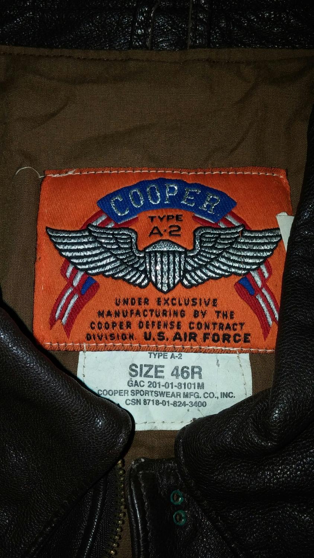 Best Vintage Size 46r A2 Cooper Bomber Jacket For Sale In Dollard