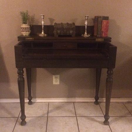 Antique Flip Top Desk - Antique Flip Top Desk Antique Furniture