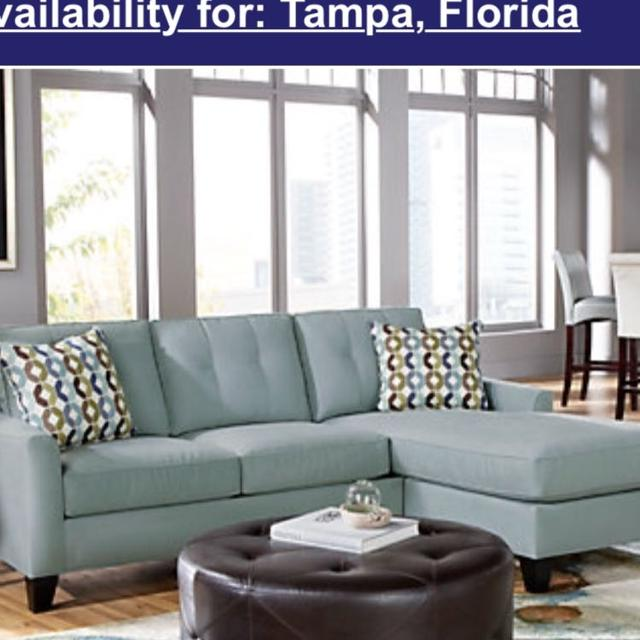 info for e848a b1faa REDUCED!!! $350 Rooms To Go Cindy Crawford Sectional $350 COUCH AND OTTOMAN