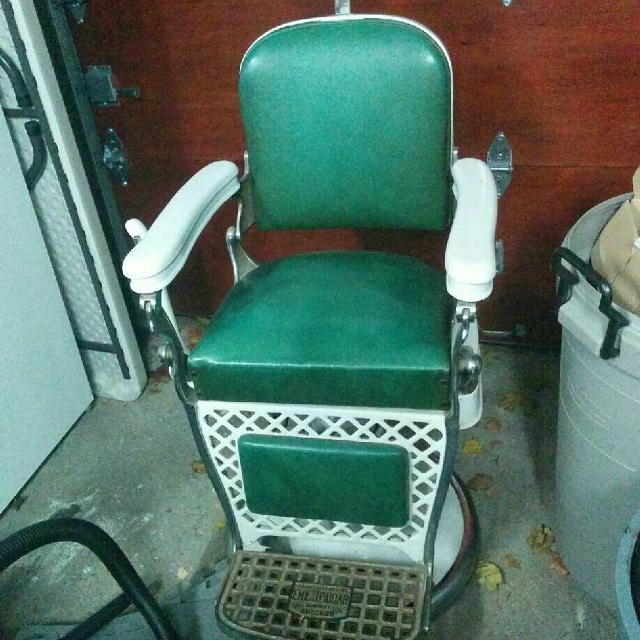 Old Barber Chairs >> Emil J Paidar Antique Barber Chair