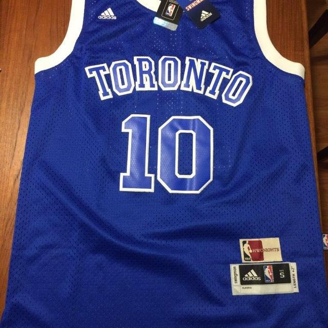 official photos 68e6e b1039 Brand new Toronto Raptors Jersey Blue Huskies Lowry Derozan