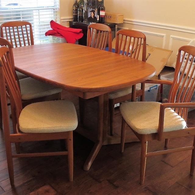 Best Price Reduction Scan Design Solid Teak Dining Table For Sale - Solid teak dining table for sale