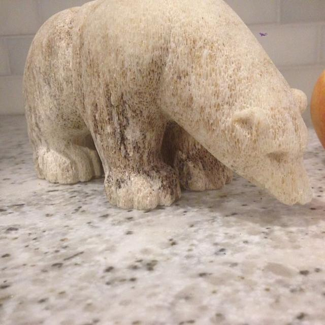 Find More Inuit Carved Whalebone Polar Bear For Sale At Up To 90 Off
