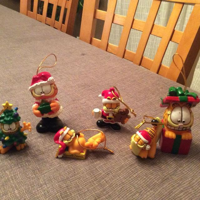 Vintage Garfield Christmas Ornaments - Find More Vintage Garfield Christmas Ornaments For Sale At Up To 90% Off