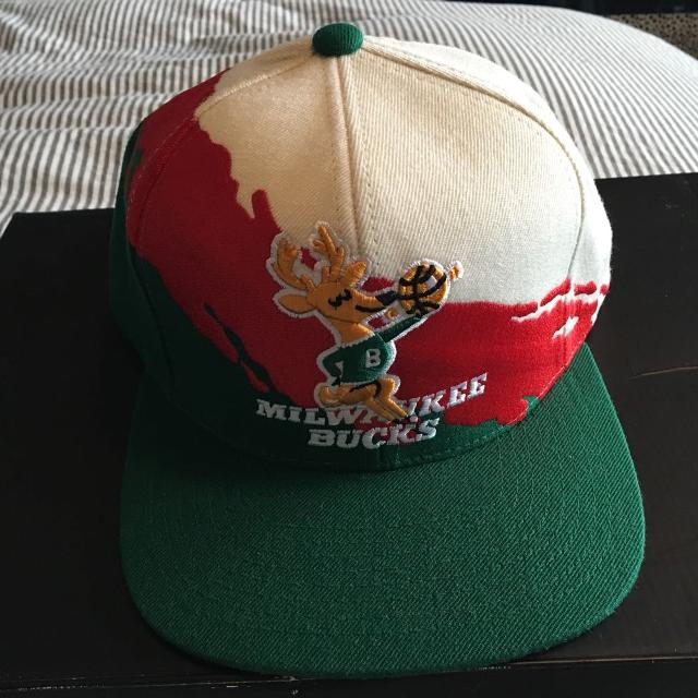 b0d196b3b62 Find more Milwaukee Bucks Snapback Hat for sale at up to 90% off ...