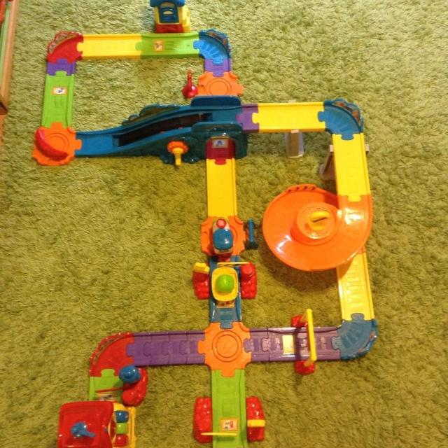 Find More Vtech Go Go Smart Wheels Train Station Playset For Sale At