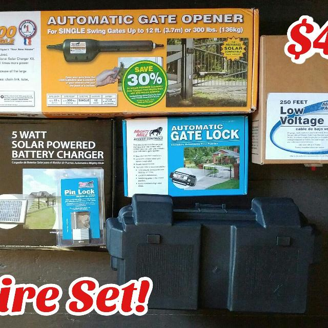 *NEW* Mighty Mule Automatic Gate Opener kit
