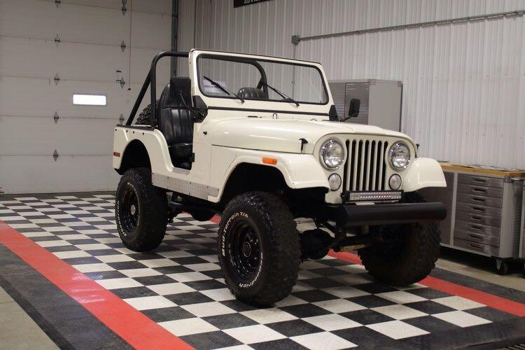 best 1970 white jeep wrangler cj5 for sale in erie pennsylvania for 2018. Black Bedroom Furniture Sets. Home Design Ideas