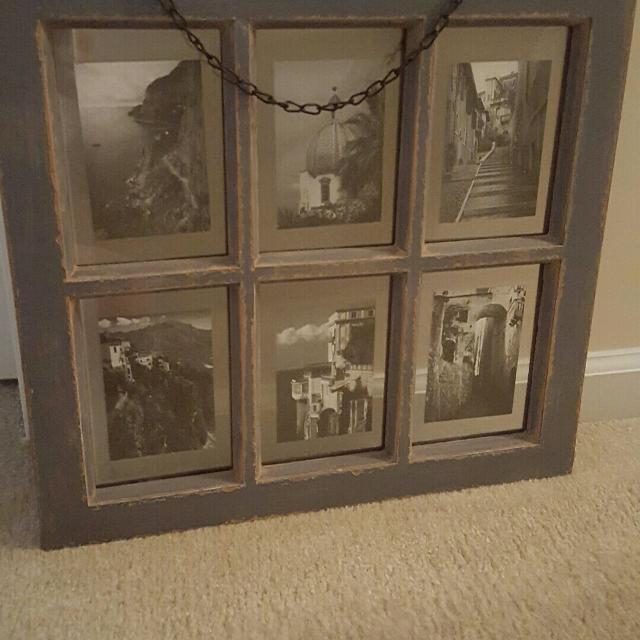 Best Rustic Window Pane Picture Frame For Sale In Bluffton South