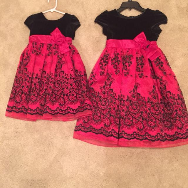 matchingsister christmas dresses