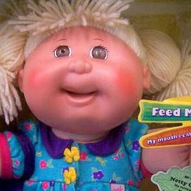 Recalled Rare Cabbage Patch Snack Time
