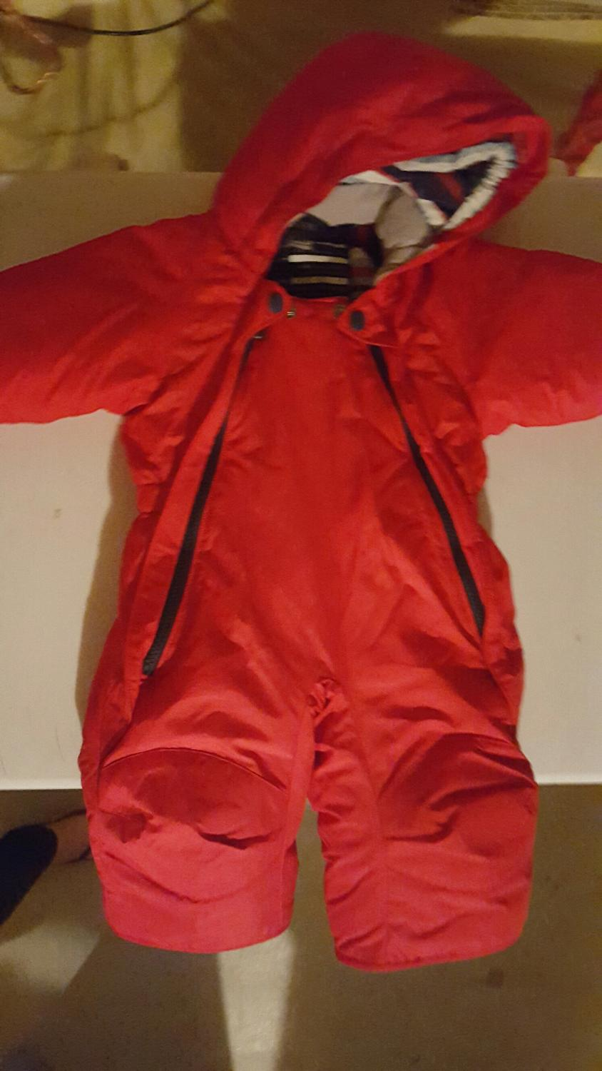 d2217b0dbb4f Find more Mec Toaster Bunting Snow Suit Size 6 Months for sale at up ...