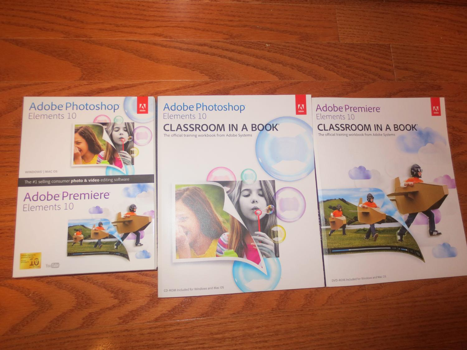 Find more Adobe Photoshop Elements 10 & Adobe Premiere Elements 10 Plus Adobe  Classroom In A Book Included for sale at up to 90% off