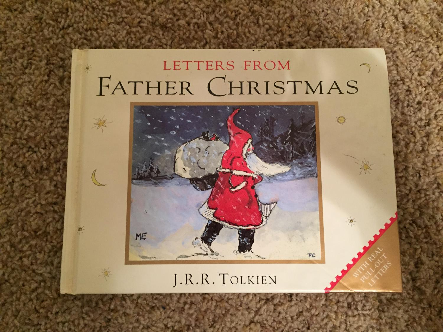 Father Christmas Letters Tolkien.Letters From Father Christmas Hardcover J R R Tolkien Excellent Condition