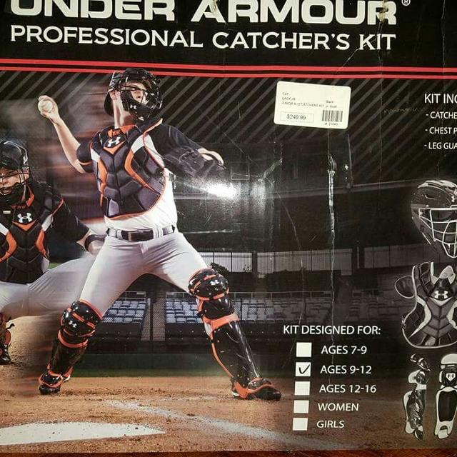 Best Under Armour Youth Catchers Gear For Sale In Alamo Heights
