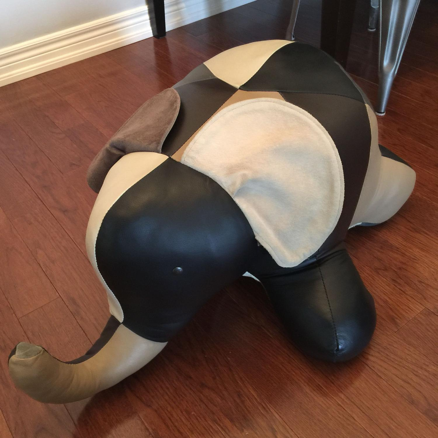 Find More Leather Elephant Ottoman Foot Stool Reiners