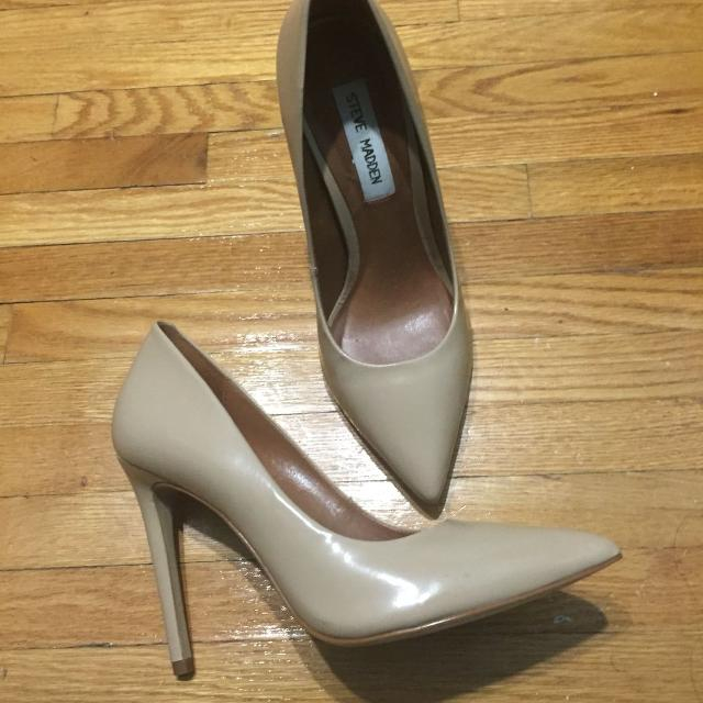 78ff96ad7a0 Find more Steve Madden Nude Shoes In Excellent Condition! 20 ...